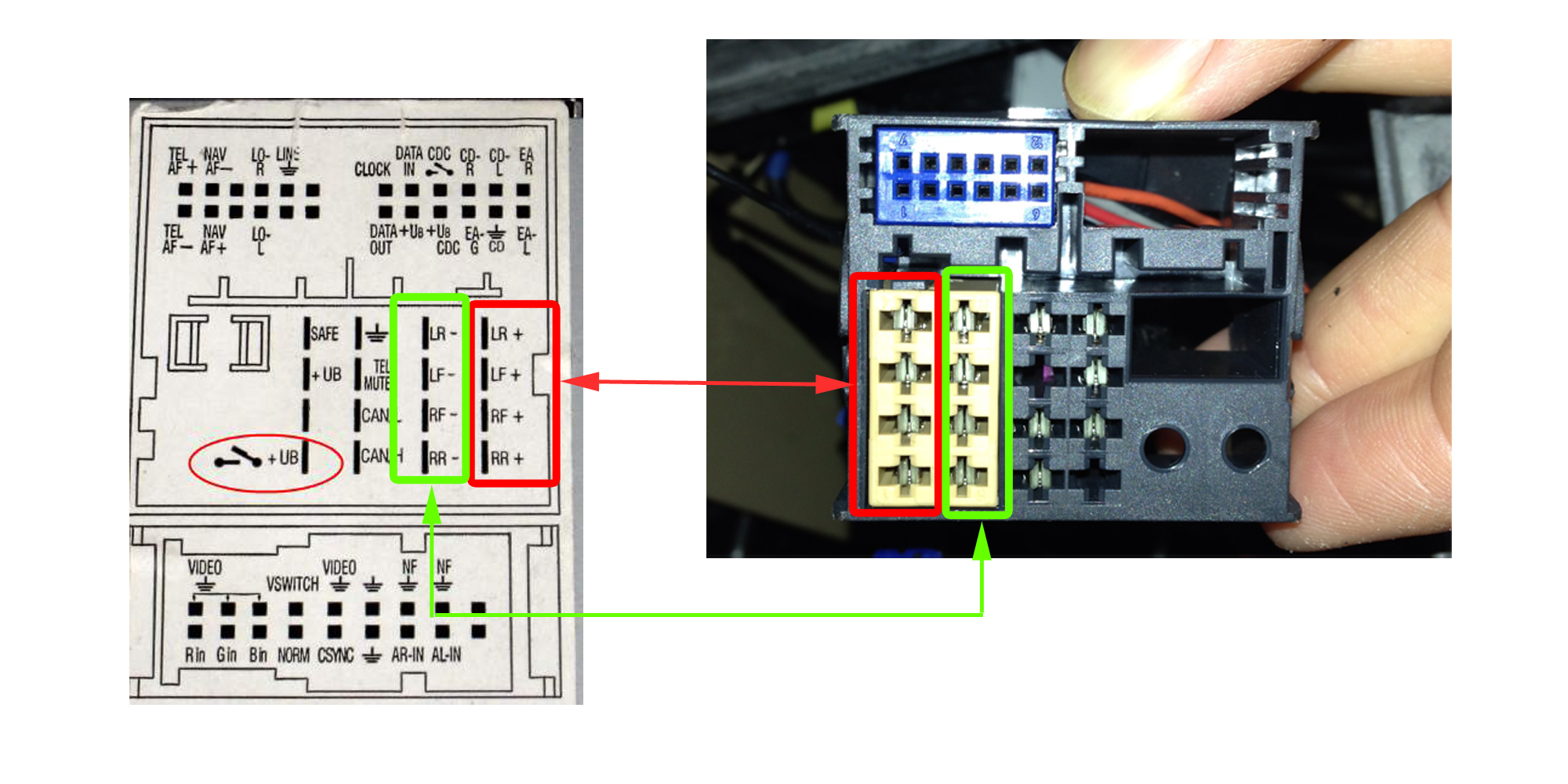 Stereo Wiring Colours Club Touareg Forums
