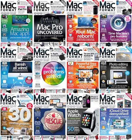 Mac Format Magazine - 2014 Full Year Issues Collection
