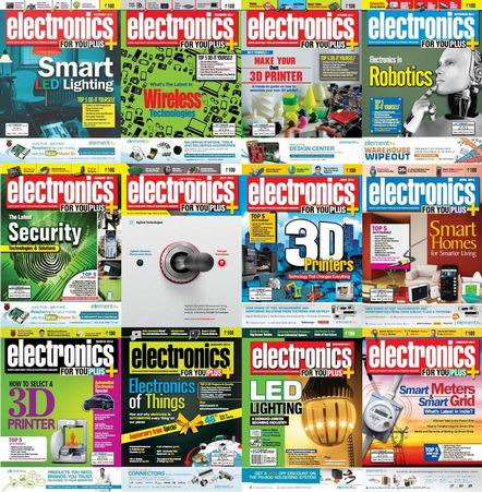 Electronics For You Magazine 2014 Full Collection