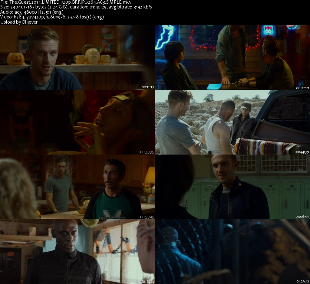 The Guest 2014 LIMITED 720p BRRiP x264 AC3-SiMPLE