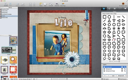 iScrapbook 5.0.1 (Mac OS X)