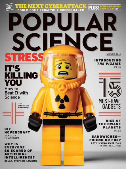 Popular Science USA - March 2015