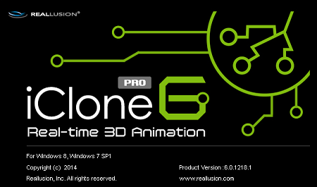 Reallusion iClone Pro 6.01 Retail (x64) + Content