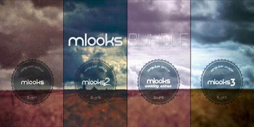 MotionVFX - mLooks Bundle for FCP X and Adobe Premiere (Mac OS X)