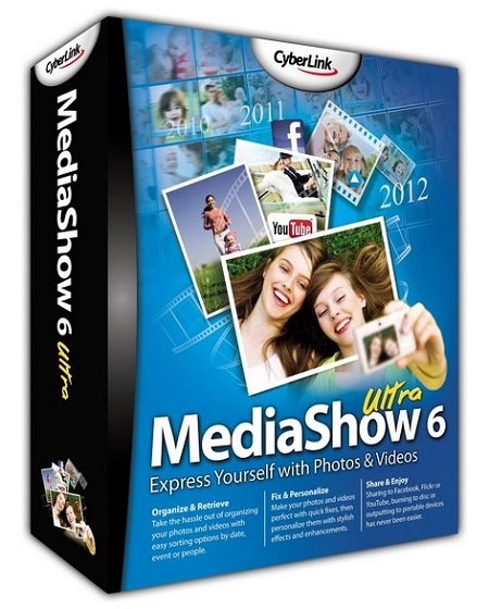 CyberLink MediaShow Ultra 6.0.7616 Multilingual