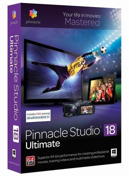 Pinnacle Studio Ultimate 18.1.0 Multilingual (x86 x64)