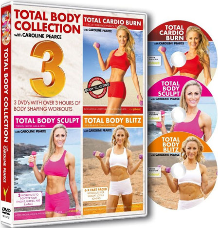 Total Body Collection with Caroline Pearce (3 DVD Set)