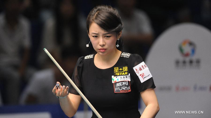 pan xiaoting sexy chinese pool player 02