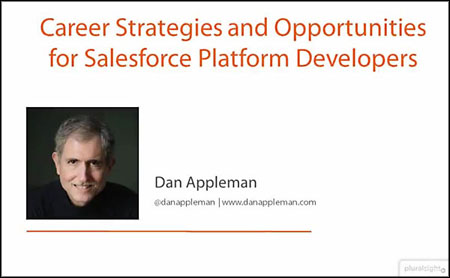 Pluralsight - Career Strategies and Opportunities for Salesforce Platform Developers