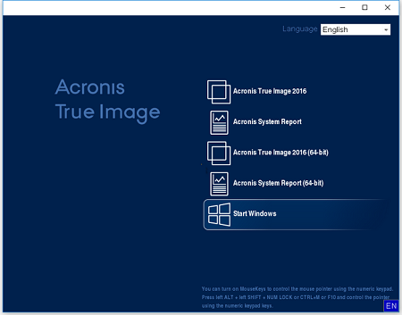 Acronis True Image 2016 19.0 Build 5628