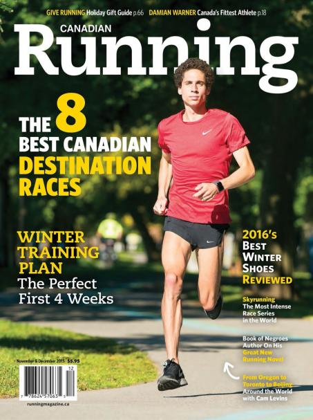 Canadian Running - November - December 2015