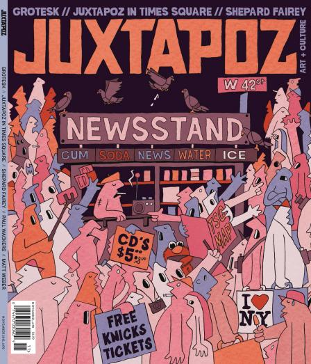 Juxtapoz Art & Culture Magazine - November 2015