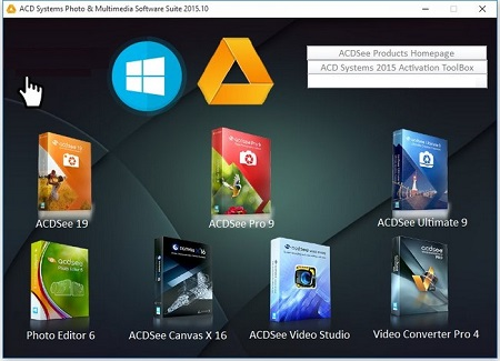ACD Systems Photo & Multimedia Software Suite 2015.10 (64-bit)