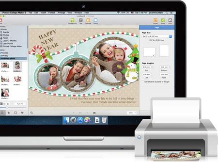PearlMountain Picture Collage Maker 3.6.2 (Mac OS X)
