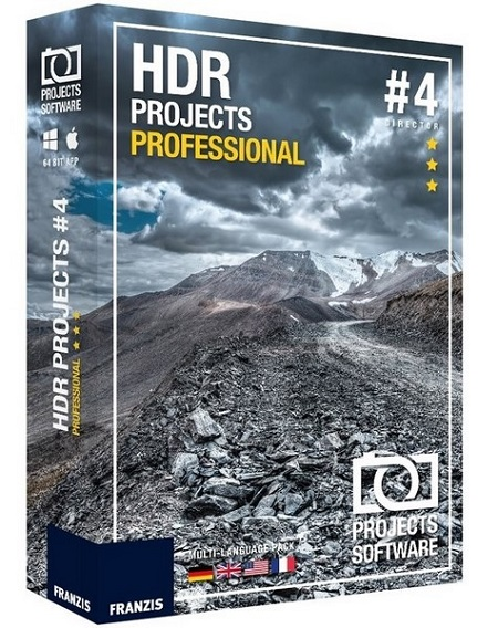 Franzis HDR Projects Professional 4.41.02511 (Mac OS X)