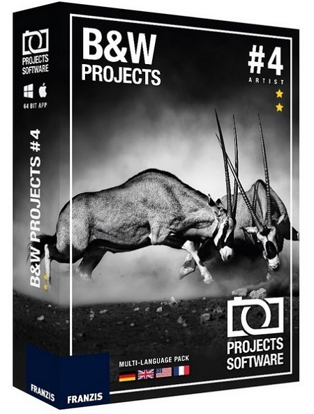 Franzis BLACK & WHITE Projects 4.41.02511 (Mac OS X)