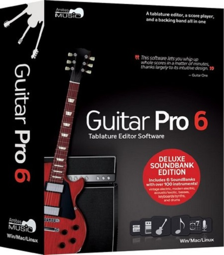 Guitar Pro 6.1.9.11686 + Soundbanks (Mac OS X)