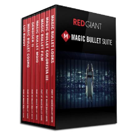 Red Giant Magic Bullet Suite 12.1.2 (Mac OS X)