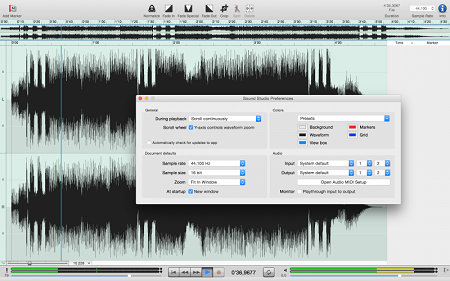 Sound Studio 4.8.1 (Mac OS X)