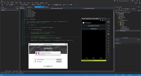Xamarin Visual Studio Enterprise 3.11.1594