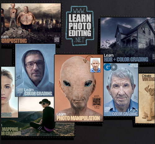 LearnPhotoEditing.net - Photoshop + Photography Tutorials Collection