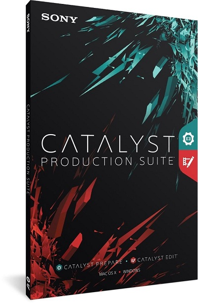 Sony Catalyst Production Suite 2015.1 (Mac O SX)