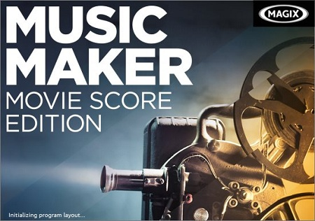 MAGIX Music Maker Movie Score Edition 21.0.4.50