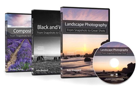 Peachpit Press: Snapshots to Great Shots DVD Bundle