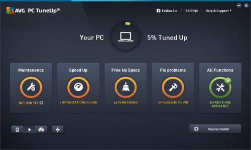 AVG PC TuneUp 2016 16.13.1.47453 Multilingual (x86/x64)