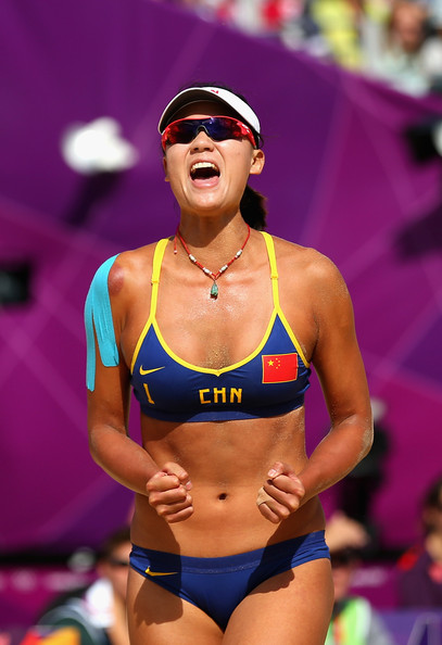 xue chen hot beach volley ball player 03