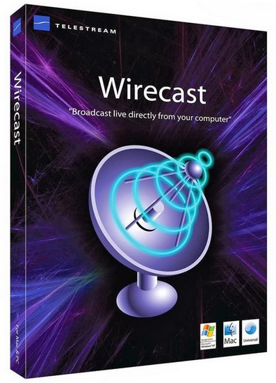 Telestream Wirecast 6.0.7 (x32/x64)