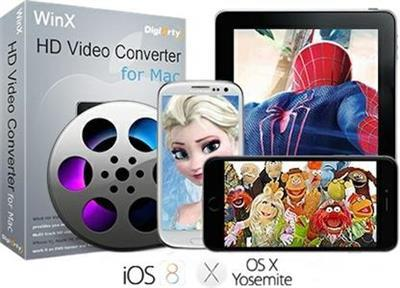 WinX HD Video Converter 5.9.3 Multilingual-Mac OSX