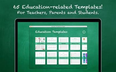 Education Templates (for Pages) 2.0-Mac OSX