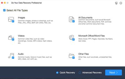 Your Data Recovery Professional (Mac