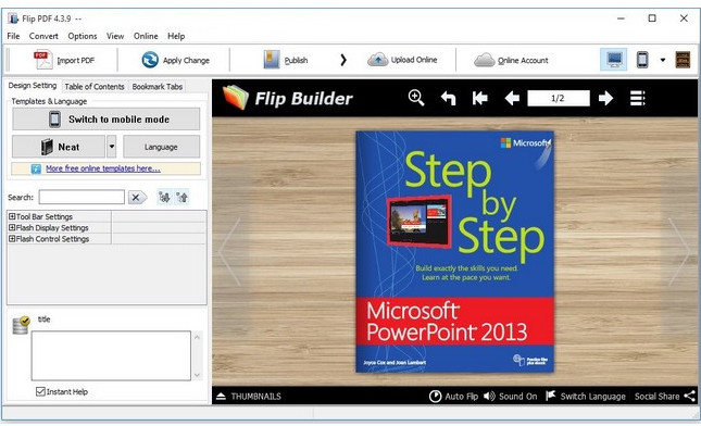 Flipbuilder Flip Pdf v4.4.4 Multilingual