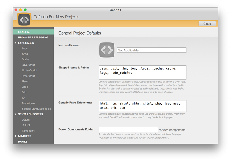 CodeKit 2.9 (Mac OS X)