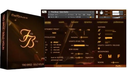 Fluffy Audio Trio Broz Solo Violin v2.0 KONTAKT-SYNTHiC4TE 171016