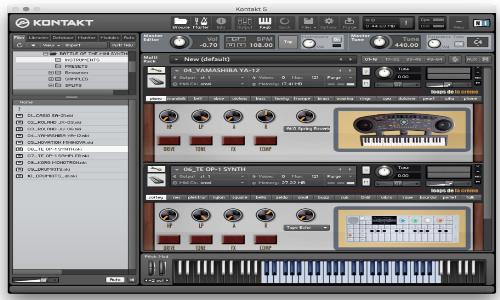 Loops De La Creme Battle Of The Mini Synths KONTAKT-SYNTHiC4TE