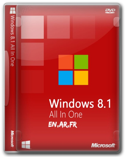 Microsoft Windows 8.1 AIO (x86x64) Multilanguage September2016 Full Activated