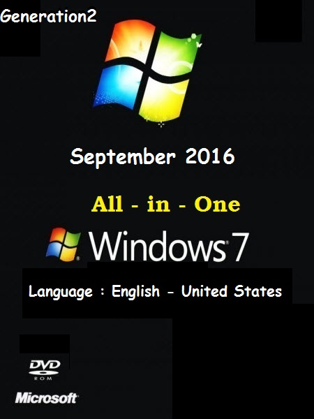Windows 7 SP1 AIO 10-in-1 ESD (x64) En-US September 2016-Gen2