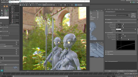 The Gnomon Workshop: Introduction to Redshift for Maya with Christophe Desse