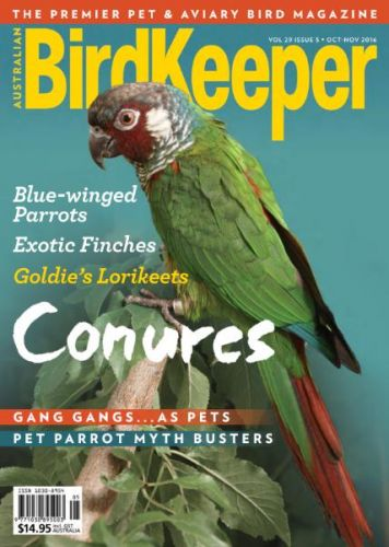 Australian Birdkeeper Magazine - October-November 2016