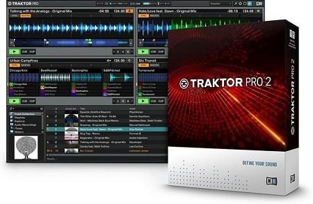 Native Instruments Traktor & Scratch Pro 2.11 (Mac OS X)