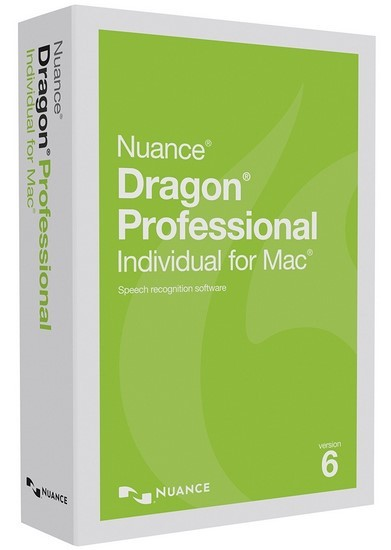 Nuance Dragon Professional Individual for Mac 6.0.2  (MacOSX)