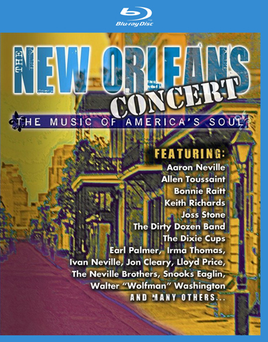 VA - New Orleans Concert - The Music Of America's Soul (2006) [Blu-ray]