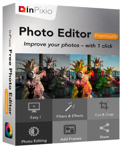 Inpixio Photo Editor v1.05.6024 Premium (Portable)