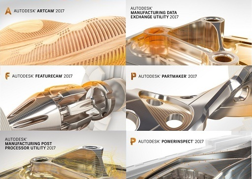 Autodesk Delcam 2017 Sp2 Suite Multilanguage