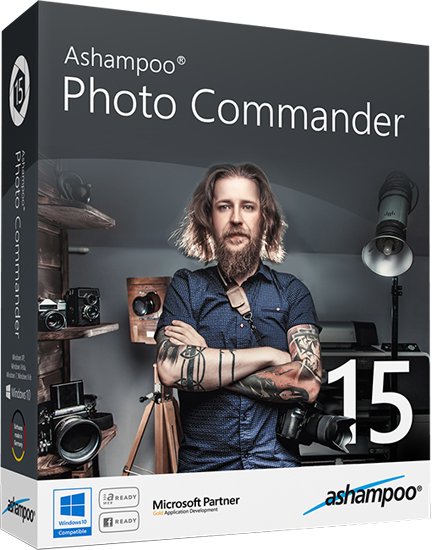 Ashampoo Photo Commander v15.0.0 Multilingual (Portable)