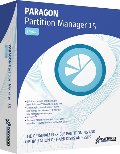 Paragon Partition Manager 15 Home v10.1.25.779 Boot Medias (x86/x64)