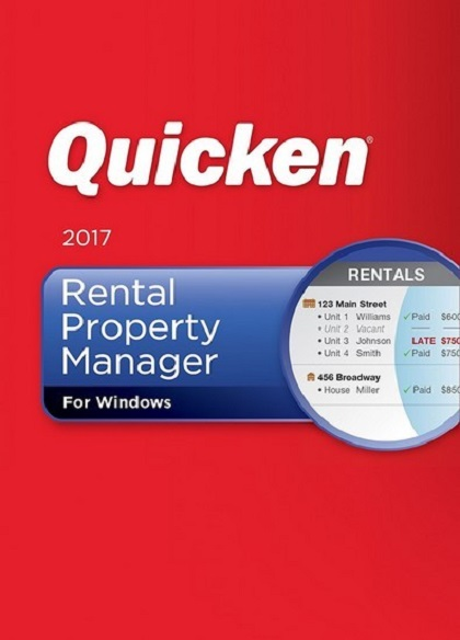 Intuit Quicken Rental Property Manager 2017 26.1.2.7
